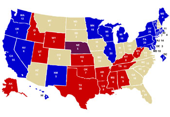 Image Gallery swing states 2016